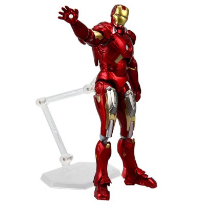 Avengers Figma 217 Iron Man Mark VII Movie Figure Toy Christmas Gift