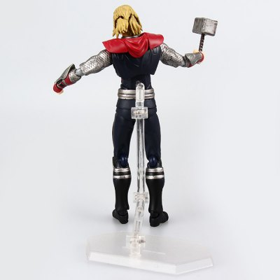 The Avengers Figma 216 Thor Movie Figure Toy Christmas Gift