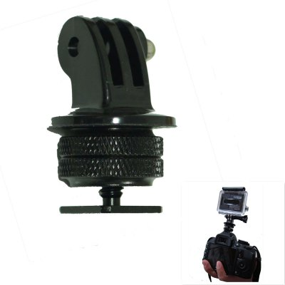 1 / 4 Inches Hot Shoe Connecting Adapter + Tripod Mount Adapter
