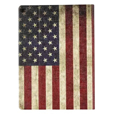 ФОТО US Flag Pattern Protective Cover Case for iPad Pro with PU Material