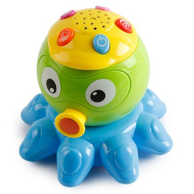 Gao Sheng Electronic Magic Music 65151 Octopus with Five Button Toy Children Gift