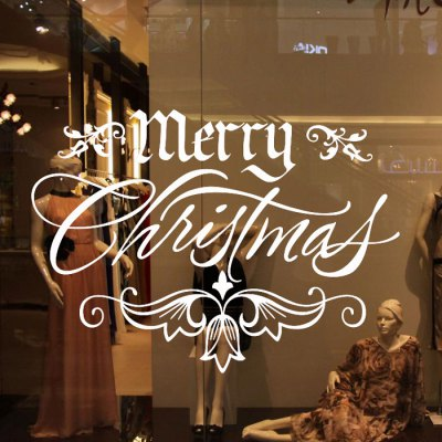 Christmas Greetings Style Removable Wallpaper