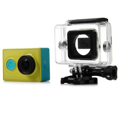 Waterproof Case + Backup Battery SetAction Cameras &amp; Sport DV Accessories<br>Waterproof Case + Backup Battery Set<br><br>Apply to Brand : Xiaomi<br>Compatible with : Xiaomi Yi<br>Accessory Type: Screw, Battery, Backdoor Housing, Mount Adapter, Protective Cases/Housing, USB Cable, Mounting Base Holder<br>Material: Metal, Plastic<br>Battery Capacity : 2400mAh<br>Battery Type: Rechargeable battery<br>IPXX Rating: 30M underwater<br>Waterproof: Yes<br>For Activity: Skate, Snowboarding, SkyDiving, Aviation, Wakeboarding, Surfing, Motocycle, General Sports, Boating, Film and Music, Universal, Kayaking, Bike, Dive, Rock Climbing, Hunting and Fishing<br>Product Weight : 0.230 kg<br>Package Weight : 0.29 kg<br>Product Size (L x W x H): 19.7 x 4.5 x 8.5 cm / 7.74 x 1.77 x 3.34 inches<br>Package Size (L x W x H): 21 x 6 x 10 cm / 8.25 x 2.36 x 3.93 inches<br>Package Contents: 1 x Waterproof Case, 1 x Mount Base, 1 x Long Screw, 1 x Extensive Backdoor Housing, 1 x 2400mAh Backup Battery, 1 x USB Cable, 1 x 1/4 Adapter, 1 x Lock Buckle for Backup Battery