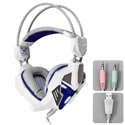 KOTION EACH G3100 3.5mm USB Vibration Gaming Headset