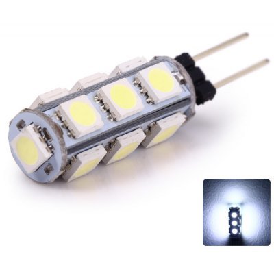 2PCS G4 - 13SMD5050 2W 135LM Car License Plate Light