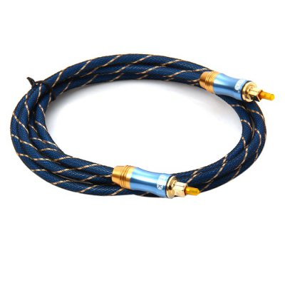 Здесь можно купить   EITK LSYJ-A015 1.5m Digital Round Optical Fiber Male to Male Audio Cable