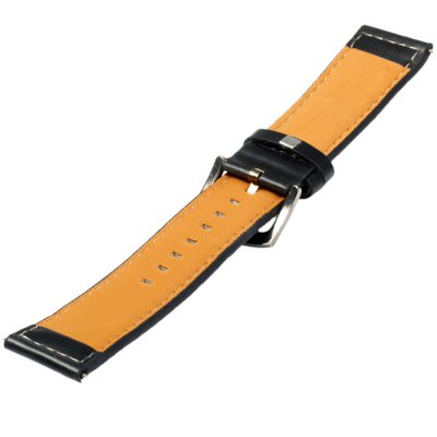 24mm Leather Strap with Pin BuckleSmartwatch Accessories<br>24mm Leather Strap with Pin Buckle<br><br>Type: Normal watch band<br>Features: Stainless steel pin buckle, Leather band<br>Material: Leather<br>Color: Black<br>Product weight: 0.012 kg<br>Package weight: 0.062 kg<br>Product size (L x W x H) : 22 x 2.2 x 0.2 cm / 8.65 x 0.86 x 0.08 inches<br>Package size (L x W x H): 15 x 3.2 x 2 cm / 5.90 x 1.26 x 0.79 inches<br>Package Contents: 1 x Watch Band