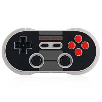 8Bitdo NES30 Pro Wireless Bluetooth Game ControllerGame Controllers<br>8Bitdo NES30 Pro Wireless Bluetooth Game Controller<br><br>Product weight   : 0.083 kg<br>Package weight   : 0.302 kg<br>Product size (L x W x H)  : 13.2 x 6.5 x 1.5 cm / 5.19 x 2.55 x 0.59 inches<br>Package size (L x W x H)  : 15.5 x 9.5 x 4.5 cm / 6.09 x 3.73 x 1.77 inches<br>Package Contents: 1 x 8Bitdo NES30 Wireless Bluetooth Pro Game Controller for iOS Android Gamepad, 1 x Ring Holder, 1 x FC Style USB Cable, 1 x FC 30th Anniversary Key Chain, 1 x Bilingual User Manual in English and Ch