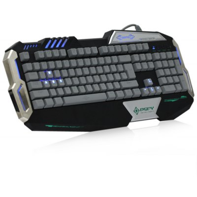 USB 2.0 Backlight Wired Mechanical Keyboard
