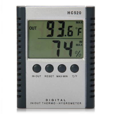 HC520 2 in 1 Digital Temperature Humidity Meter