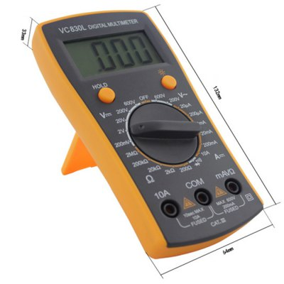 ФОТО BEST VC830L LCD Digital Multimeter