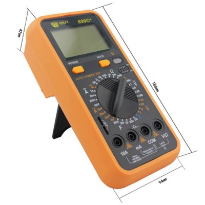 ФОТО BEST 890C+ LCD Digital Multimeter