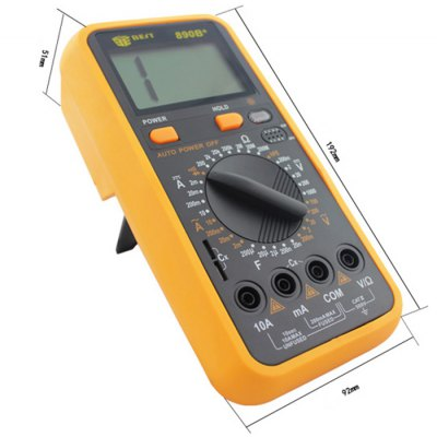ФОТО BEST 890B+ LCD Digital Multimeter