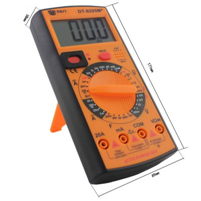 ФОТО BEST DT-9205M+ LCD Digital Multimeter