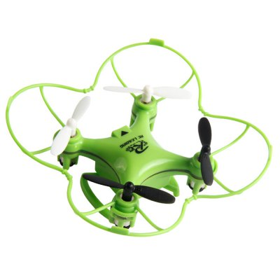 RC LEADING Tiny RC101 2.4GHz 4 Channel 6-axis Gyro Quadcopter LED Light
