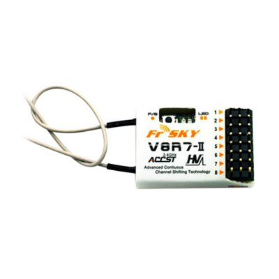 FrSky V8R7-II 2.4G 7CH High Voltage Receiver