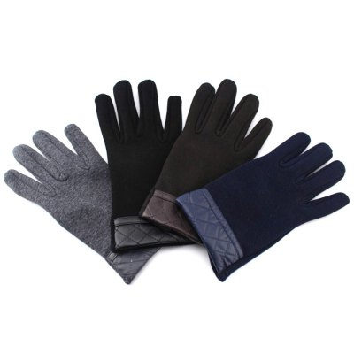 Full-finger Men Screen Touch Cycling Gloves