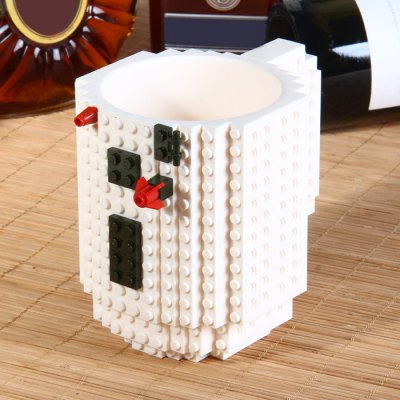 Build-on Brick Mug Creative DIY Puzzle Block Coffee Cup