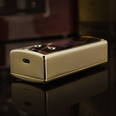 Original Usicig ICIG V10 150W TC Box ModTemperature Control Mods<br>Original Usicig ICIG V10 150W TC Box Mod<br><br>Type: Electronic Cigarettes Accessories<br>Accessories type: MOD<br>Mod: VW Mod, Temperature Control Mod<br>APV Mod Wattage: 150W<br>Temperature Control Range: 400 - 600F<br>510 Connector Type: Spring Loaded<br>Atmoizer Connector Diameter: 29mm<br>Features: VW / TC<br>Battery Form Factor: 18650<br>Battery Quantity: 2 pieces (not included in the package)<br>Battery cover type: Magnetic<br>Charge way: USB<br>Resistance: 0.2 - 5.0ohm (Standard coil), 0.1 - 5.0ohm (TC coil)<br>Material: Zinc Alloy<br>Available Color: Silver, Black, Gold, White<br>Product weight  : 0.250 kg<br>Package weight   : 0.35 kg<br>Product size (L x W x H)  : 9.8 x 4.58 x 2.9 cm / 3.85 x 1.80 x 1.14 inches<br>Package size (L x W x H)  : 14 x 11 x 6 cm / 5.50 x 4.32 x 2.36 inches<br>Package Contents: 1 x Usicig ICIG V10 150W TC Box Mod, 1 x English User Manual, 1 x USB Charging Cable