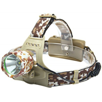 K13 Cree XML T6 600Lm Rechargeable LED Headlamp