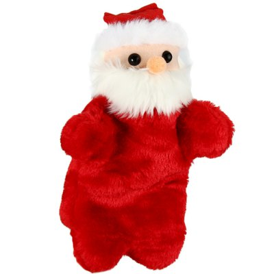 Santa Claus Hand Puppet Plush Toy