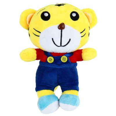8 inch Tiger Qiaohu Design Cute Plush Toy Kid Stuffed Gift with Suction Cup