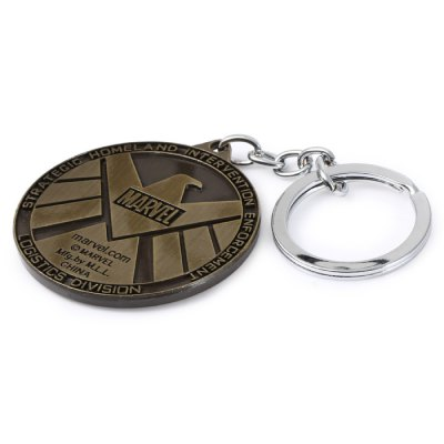 The Avengers-SHIELD Sign Metal Key ChainHome Gadgets<br>The Avengers-SHIELD Sign Metal Key Chain<br><br>Type: Key Chain<br>Material: Alloy,Metal<br>Product weight: 0.041 kg<br>Package weight: 0.079 kg<br>Product size (L x W x H): 5.10 x 5.10 x 0.50 cm / 2.01 x 2.01 x 0.2 inches<br>Package size (L x W x H): 16.50 x 7.90 x 1.20 cm / 6.5 x 3.11 x 0.47 inches<br>Package Contents: 1 x Key Chain