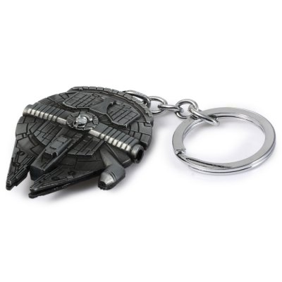 Vess Millennium Falcon A Style Key RingHome Gadgets<br>Vess Millennium Falcon A Style Key Ring<br><br>Type: Key Chain<br>Material: Alloy,Metal<br>Product weight: 0.035 kg<br>Package weight: 0.073 kg<br>Product size (L x W x H): 12.50 x 4.50 x 0.60 cm / 4.92 x 1.77 x 0.24 inches<br>Package size (L x W x H): 16.50 x 8.10 x 2.00 cm / 6.5 x 3.19 x 0.79 inches<br>Package Contents: 1 x Key Chain