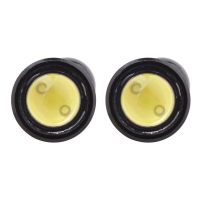 2pcs MZ Eagle Eyes 16mm 6W Car Daytime Running Light