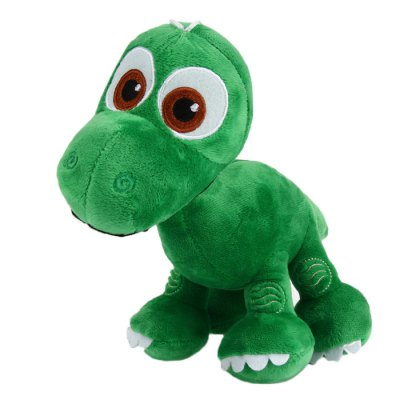 7 inch Dinosaur Design Cute Plush Toy with Suction Cup Christmas Present