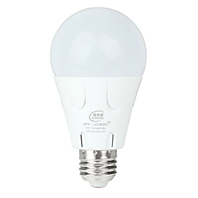 Semlamp SL-101 E27 Smart LED Bulb 7WSmart Lighting<br>Semlamp SL-101 E27 Smart LED Bulb 7W<br><br>Material: ABS, Fire-proof Material<br>Base Type: E27<br>Operating System: Android and iOS<br>Power: 7W<br>Voltage: AC220V<br>Color Temperature: 2700K - 6000K<br>Remote Control Distance: 10m<br>Features: Remote Controlled<br>Function: Home Lighting<br>Product Weight: 0.077 kg<br>Package Weight: 0.153 kg<br>Product Size  ( L x W x H ): 11 x 6 x 11 cm / 4.32 x 2.36 x 4.32 inches<br>Package Size ( L x W x H ): 12.5 x 6.7 x 12.5 cm / 4.91 x 2.63 x 4.91 inches<br>Package Contents: 1 x Bulb, 1 x Chinese User Manual