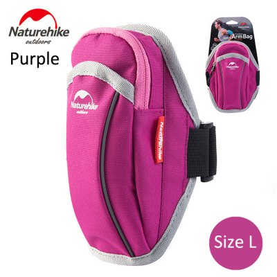 NatureHike Male Cell Phone Arm Bag 860D Nylon Made
