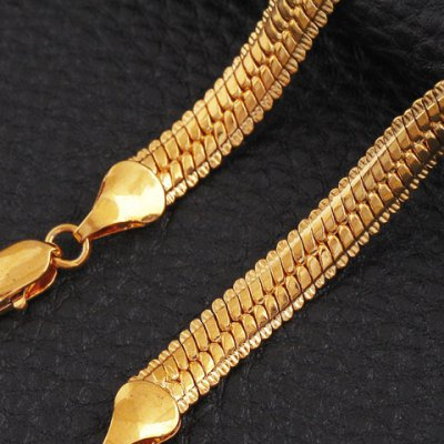 Фотография Noble Solid Color Snake Chain Bracelet For Women
