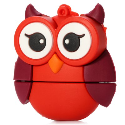32GB Big Eyes Red Owl USB 2.0 Flash DriveUSB Flash Drives<br>32GB Big Eyes Red Owl USB 2.0 Flash Drive<br><br>Capacity: 32G<br>Type: USB Stick<br>Features: Cartoon<br>Available Color: Red<br>Style: Cartoon<br>Interface: USB 2.0<br>Operation system: Window Vista, Window XP / 2000 / ME, Windows 7, Windows 8<br>Product Weight: 0.020 kg<br>Package Weight: 0.055 kg<br>Product Size (L x W x H): 4.6 x 4.4 x 1.6 cm / 1.81 x 1.73 x 0.63 inches<br>Package Size (L x W x H): 6.6 x 6.4 x 2.6 cm / 2.59 x 2.52 x 1.02 inches<br>Package Contents: 1 x 32GB Big Eyes Red Owl USB 2.0 Flash Memory Drive