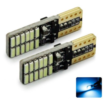2pcs T10-3014-24SMD LED Car Light