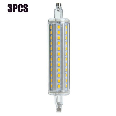 3pcs SZFC R7S 10W 980Lm 72 x SMD 2835 3000K LED Corn Light