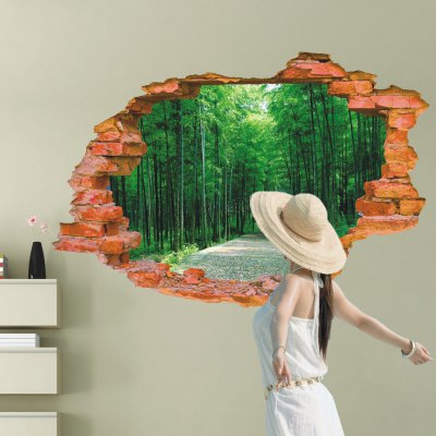 Avenue Path Style 3D Removable Wall Sticker