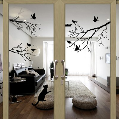 Birds Tree Removable Wall Decals