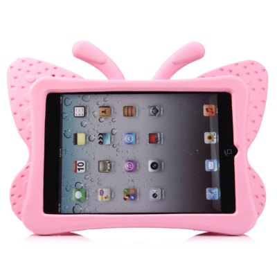 Butterfly Style EVA Foam Handle Case for iPad Mini with StandiPad Cases/Covers<br>Butterfly Style EVA Foam Handle Case for iPad Mini with Stand<br><br>Compatible for Apple: iPad Mini<br>Features: Back Cover, Cases with Stand<br>Material: EVA Foam<br>Style: Special Design<br>Color: Pink, Yellow<br>Product weight : 0.195 kg<br>Package weight : 0.216 kg<br>Product size (L x W x H): 29.4 x 20.3 x 3.2 cm / 11.55 x 7.98 x 1.26 inches<br>Package size (L x W x H) : 29.5 x 20.4 x 3.3 cm / 11.59 x 8.02 x 1.30 inches<br>Package Contents: 1 x Case