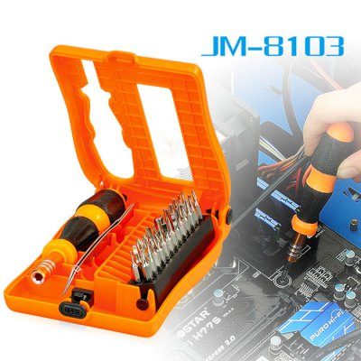 Jakemy JM-8103 28 in 1 Screwdriver Set