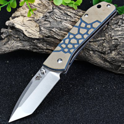 Sanrenmu 7071 Classic Hunting Knife with Liner Lock