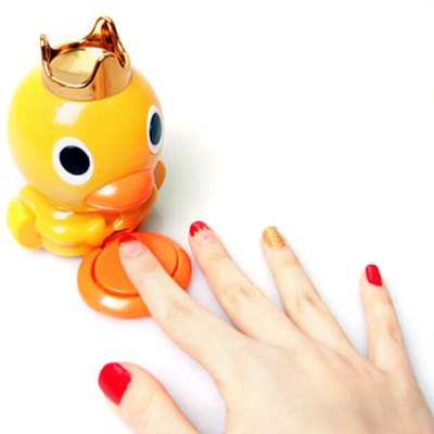 3D Yellow Duck Style Electrical Nail Polish Dryer