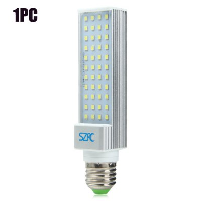 SZFC E27 SMD 2835 780Lm 8W LED Horizontal Plug LampLED Light Bulbs<br>SZFC E27 SMD 2835 780Lm 8W LED Horizontal Plug Lamp<br><br>Brand : SZFC<br>Base Type: E27, G24<br>Type: Horizontal Plug Lamp<br>Output Power: 8W<br>Emitter Types: SMD 2835<br>Total Emitters: 44<br>Luminous Flux: 780LM<br>CCT/Wavelength: 6000K, 3000K<br>Voltage (V): AC 85-265/50-60Hz<br>Features: Energy Saving, Long Life Expectancy, 80% Brightness<br>Function: Commercial Lighting, Studio and Exhibition Lighting, Home Lighting<br>Available Light Color: White, Warm White<br>Sheathing Material: Plastic, Aluminum<br>Product Weight: 0.110 kg<br>Package Weight: 0.149 kg<br>Product Size (L x W x H): 14.5 x 3.5 x 2.5 cm / 5.70 x 1.38 x 0.98 inches<br>Package Size (L x W x H): 17 x 4.5 x 4.5 cm / 6.68 x 1.77 x 1.77 inches<br>Package Contents: 1 x SZFC LED Horizontal Plug Light