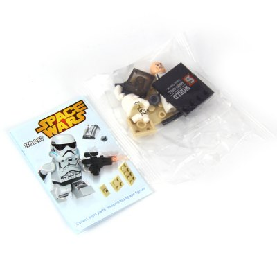 SY287 Block Space Wars Intelligent Toy for Kids 16Pcs / Set