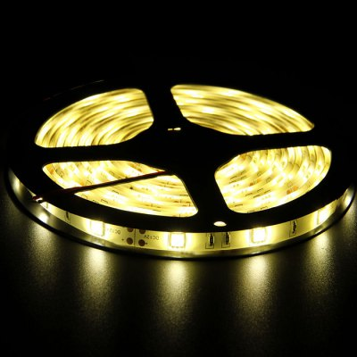 BRELONG 5M 30W 30 x SMD 5050 / M Waterproof LED Light StripLED Strips<br>BRELONG 5M 30W 30 x SMD 5050 / M Waterproof LED Light Strip<br><br>Brand: BRELONG<br>Type: LED Strip<br>Features: IP-65,Cuttable,Waterproof<br>Length: 5<br>LED type: SMD-5050<br>Number of LEDs: 30 x SMD 5050 / M<br>Actual Lumens: 2500Lm<br>CCT/Wavelength: 3000-3500K,6000-7000K<br>Optional Light Color: Warm White,RGB,Cool White<br>Connector type: EU plug,US plug<br>Input Voltage: AC100-240<br>Material: FPC<br>Product weight: 0.480 kg<br>Package weight: 0.550 kg<br>Product size (L x W x H): 500 x 1 x 0.3 cm / 196.50 x 0.39 x 0.12 inches<br>Package size (L x W x H): 25 x 22 x 4 cm / 9.83 x 8.65 x 1.57 inches<br>Package Contents: 1 x LED Strip Light, 1 x Adapter, 1 x Cable