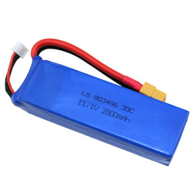 Spare 11.1V 30C 2800mAh Battery for Wltoys V303 WL913 Cheerson CX - 20 / CX 20 Quadcopter