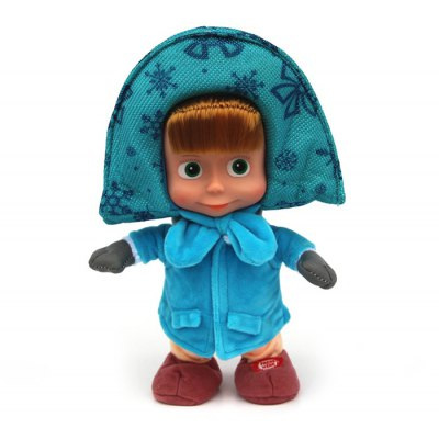 Martha with Winter Coat Plush Toy Stuffed Doll Christmas Gift - 26cm