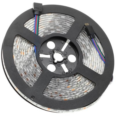 BRELONG 5M 60W 300 x SMD 5050 Waterproof RGB LED Light StripLED Strips<br>BRELONG 5M 60W 300 x SMD 5050 Waterproof RGB LED Light Strip<br><br>Brand: BRELONG<br>Type: LED Strip<br>Features: IP-65,Cuttable,Waterproof<br>Length: 5<br>LED type: SMD-5050<br>Number of LEDs: 60 x SMD 5050 / M<br>Actual Lumens: 5000Lm<br>CCT/Wavelength: 3000-3500K,6000-7000K<br>Optional Light Color: Warm White,RGB,Cool White<br>Connector type: EU plug,US plug<br>Input Voltage: AC100-240<br>Material: FPC<br>Product weight: 0.480 kg<br>Package weight: 0.55 kg<br>Product size (L x W x H): 500 x 1 x 0.3 cm / 196.50 x 0.39 x 0.12 inches<br>Package size (L x W x H): 25 x 22 x 4 cm / 9.83 x 8.65 x 1.57 inches<br>Package Contents: 1 x LED Strip Light, 1 x Adapter, 1 x Cable, 1 x Remote Controller, 1 x Control Box