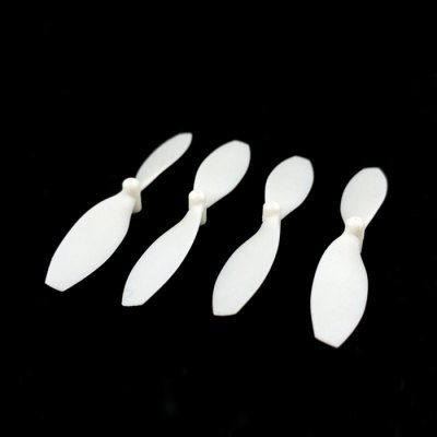 ФОТО 4Pcs Extra Spare Fluorescent Propeller / Blade Fitting for JJRC H22 RC Quadcopter