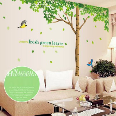 Super Size Tree Design Removable Wallpaper